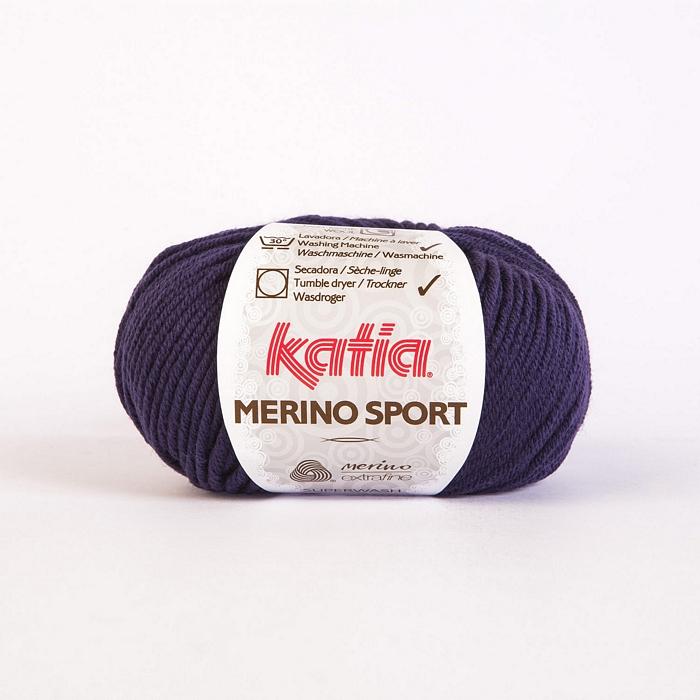 Volna, Merino Sport, 15038-36, temno vijola