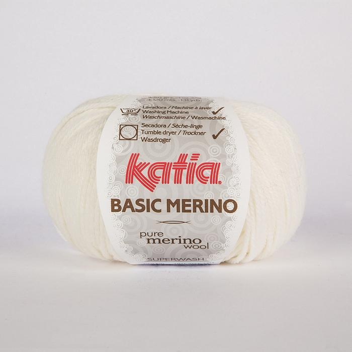 Volna, Basic Merino, 15041-1, bela