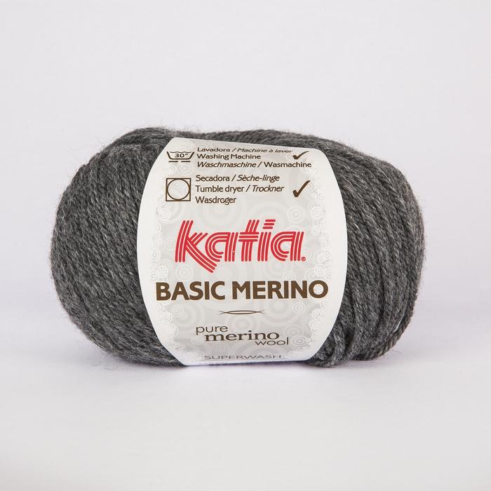 Volna, Basic Merino, 15041-14, temno siva