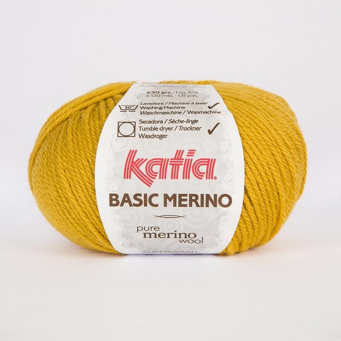 Volna, Basic Merino, 15041-41, rumena