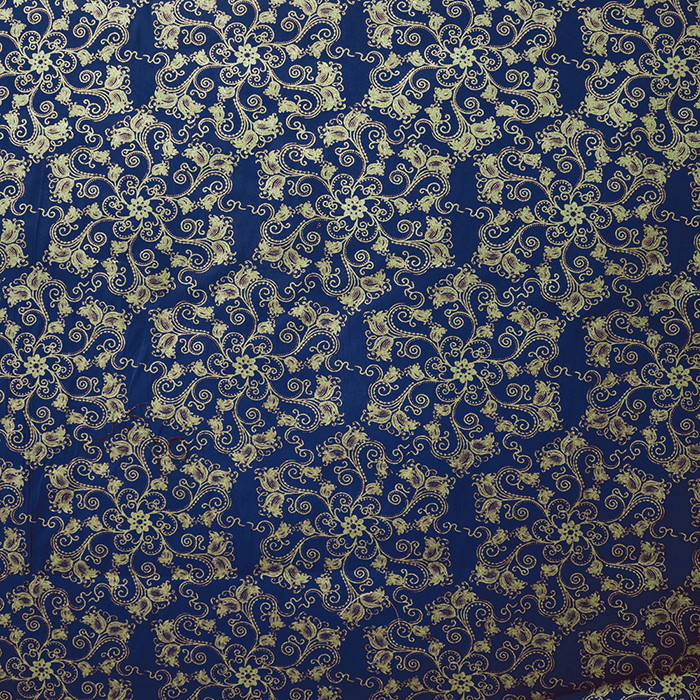 Cotton, poplin, ornaments, 15158-008