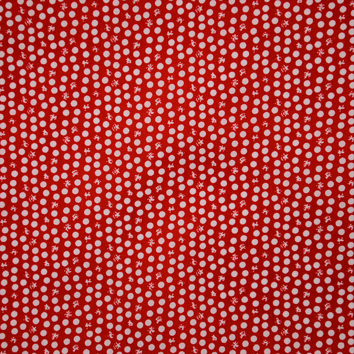 Cotton, poplin, dots, 15169-2