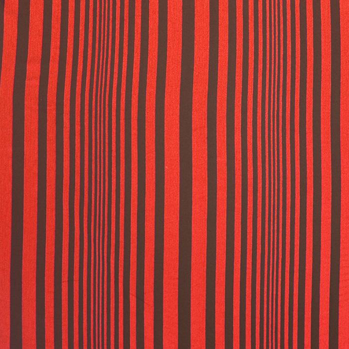Deko, Baumwolle, 15285-05, orange-schwarz