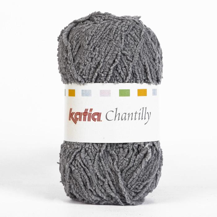 Garn, Chantilly, 15035-61, grau