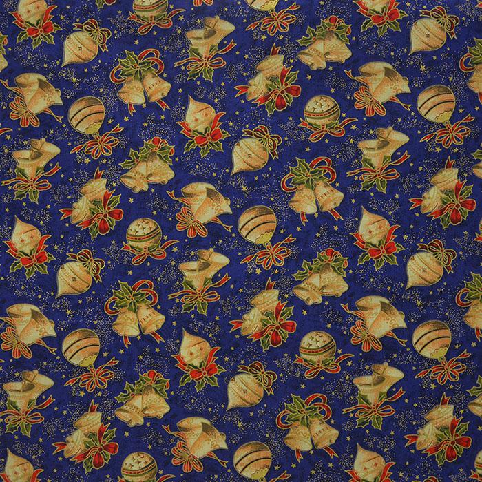 Cotton, poplin, Christmas, 13645-02