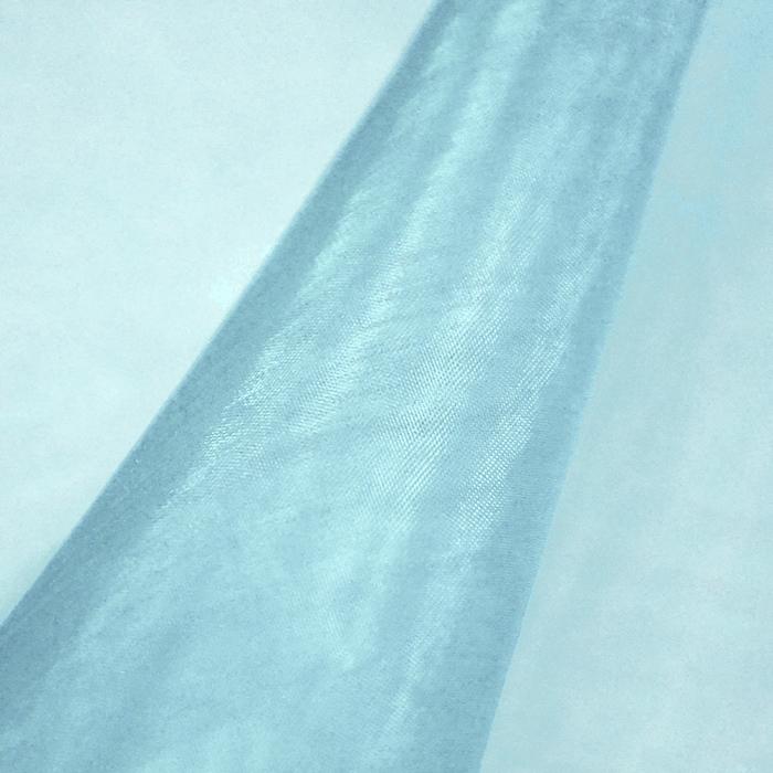 Organza, poliester, 07_13903-4, svetlo modra