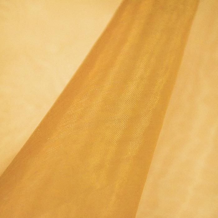 Organza, poliester, 13903-7, zlata