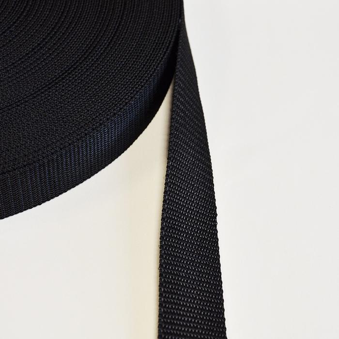 Strip, webbing, width  30mm, 15444,  black