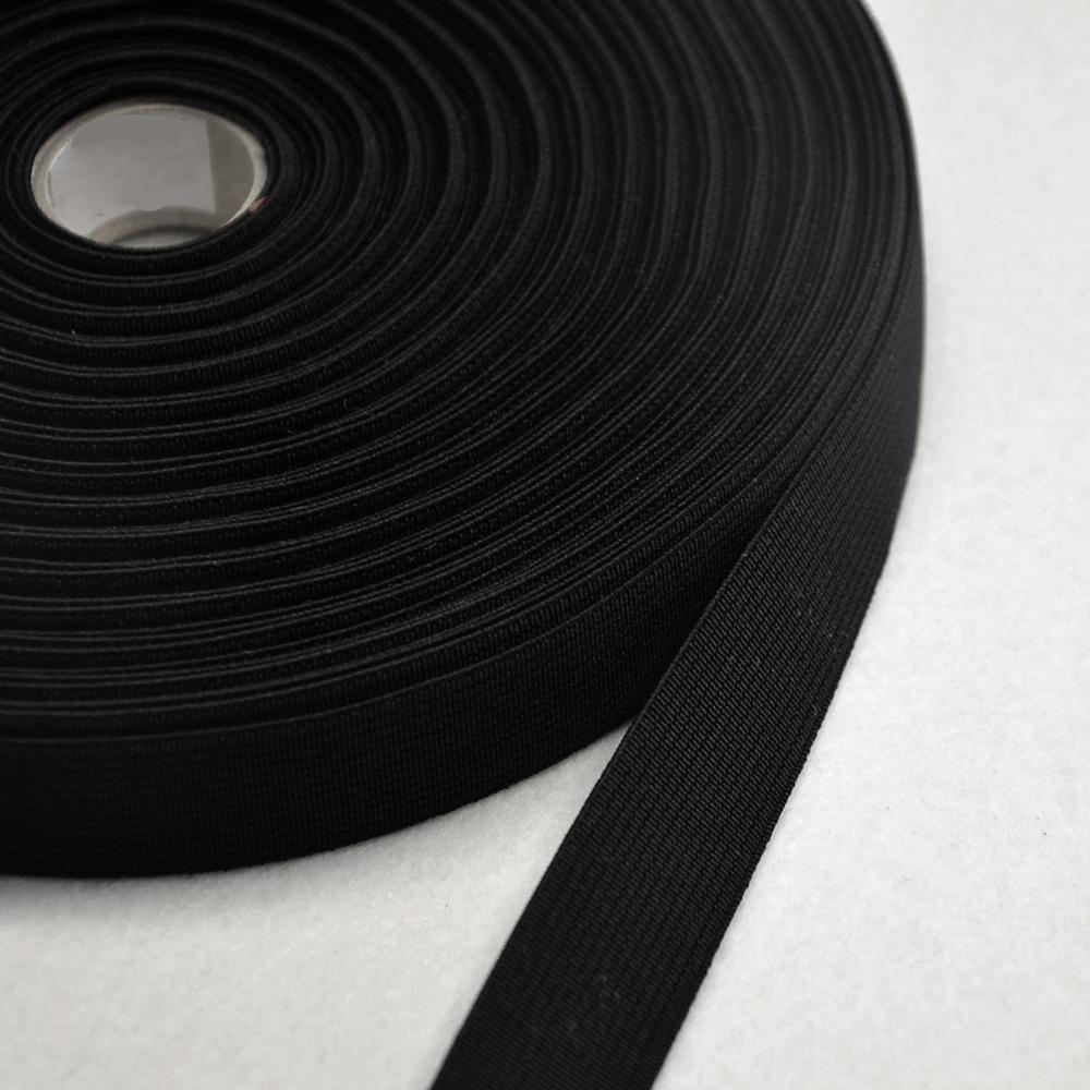 Elastika, 6_20mm, črna, 12414