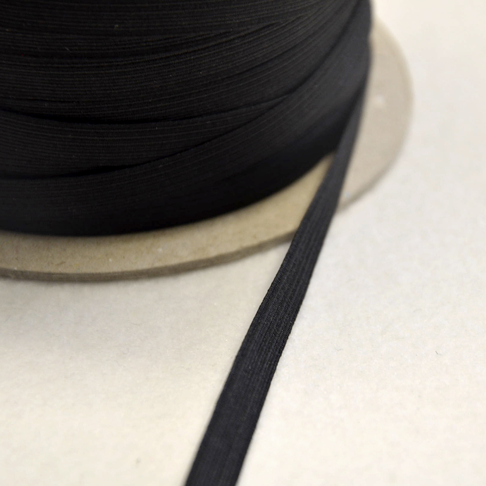 Elastika, 2_8mm, črna, 00045