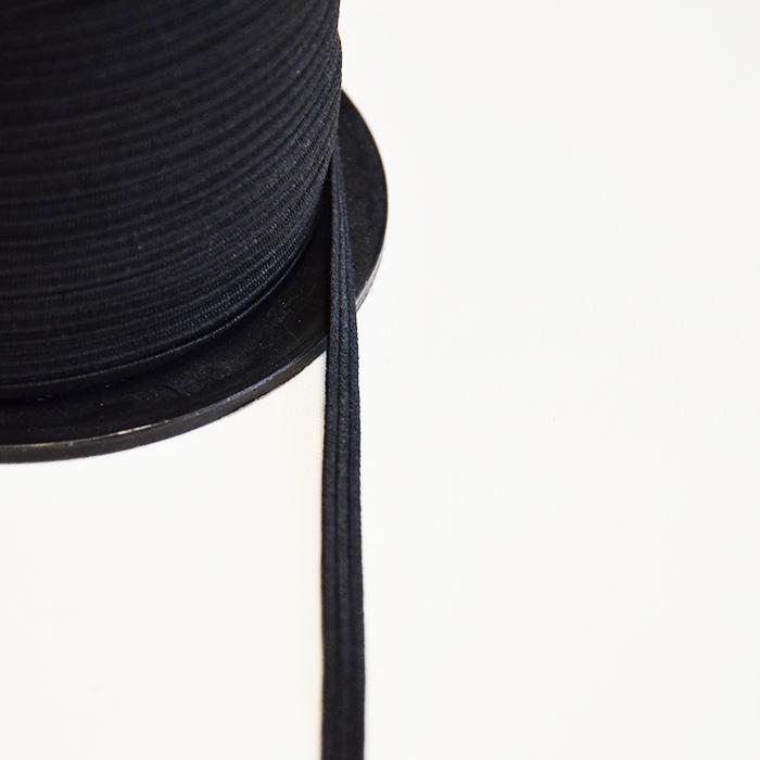 Elastika, 2_6mm, črna, 13042