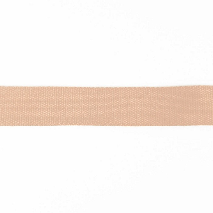 Band, Baumwolle, 15 mm, 15455-6193, lachsfarben