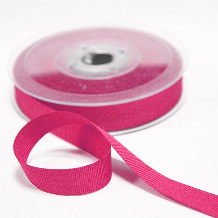 Rep ribbon, 15mm, 15457-1312, pink