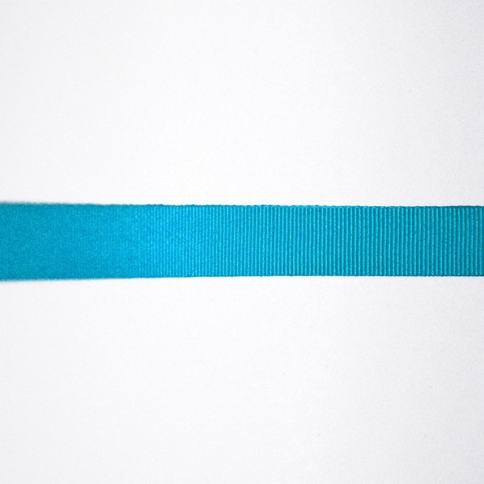 Rep ribbon, 15mm, 15457-1155, turquoise
