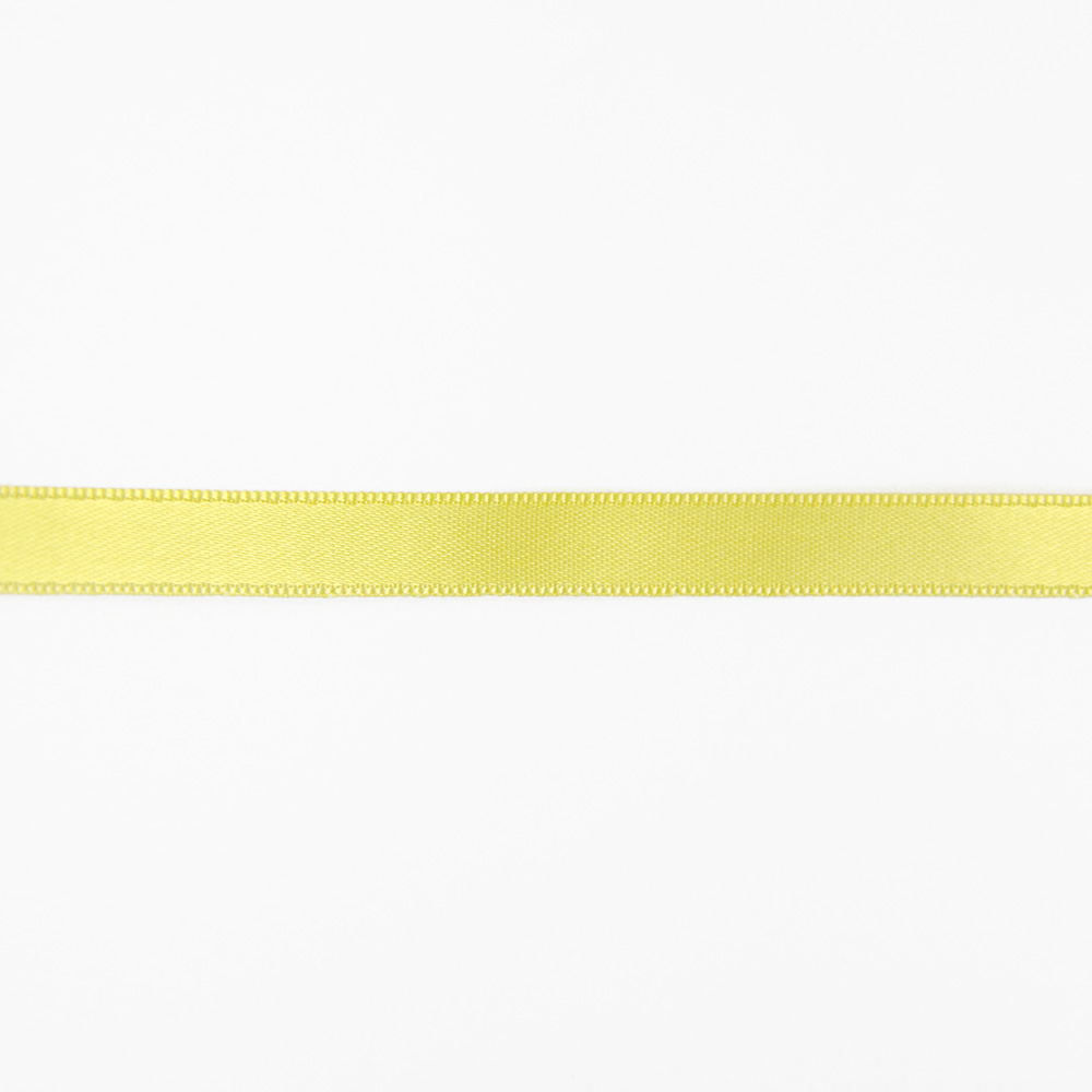 Satin ribbon, 10mm, 15458-1009, yellow