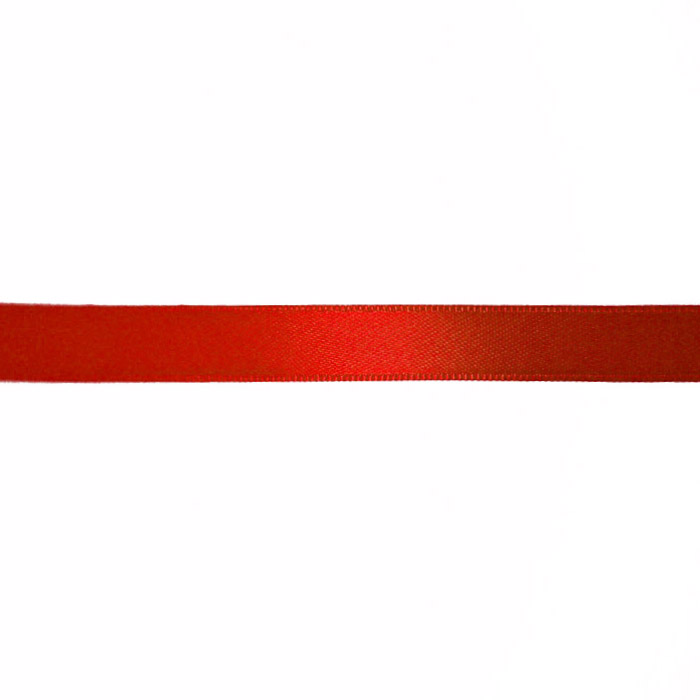 Satin ribbon, 10mm, 15458-1229, red