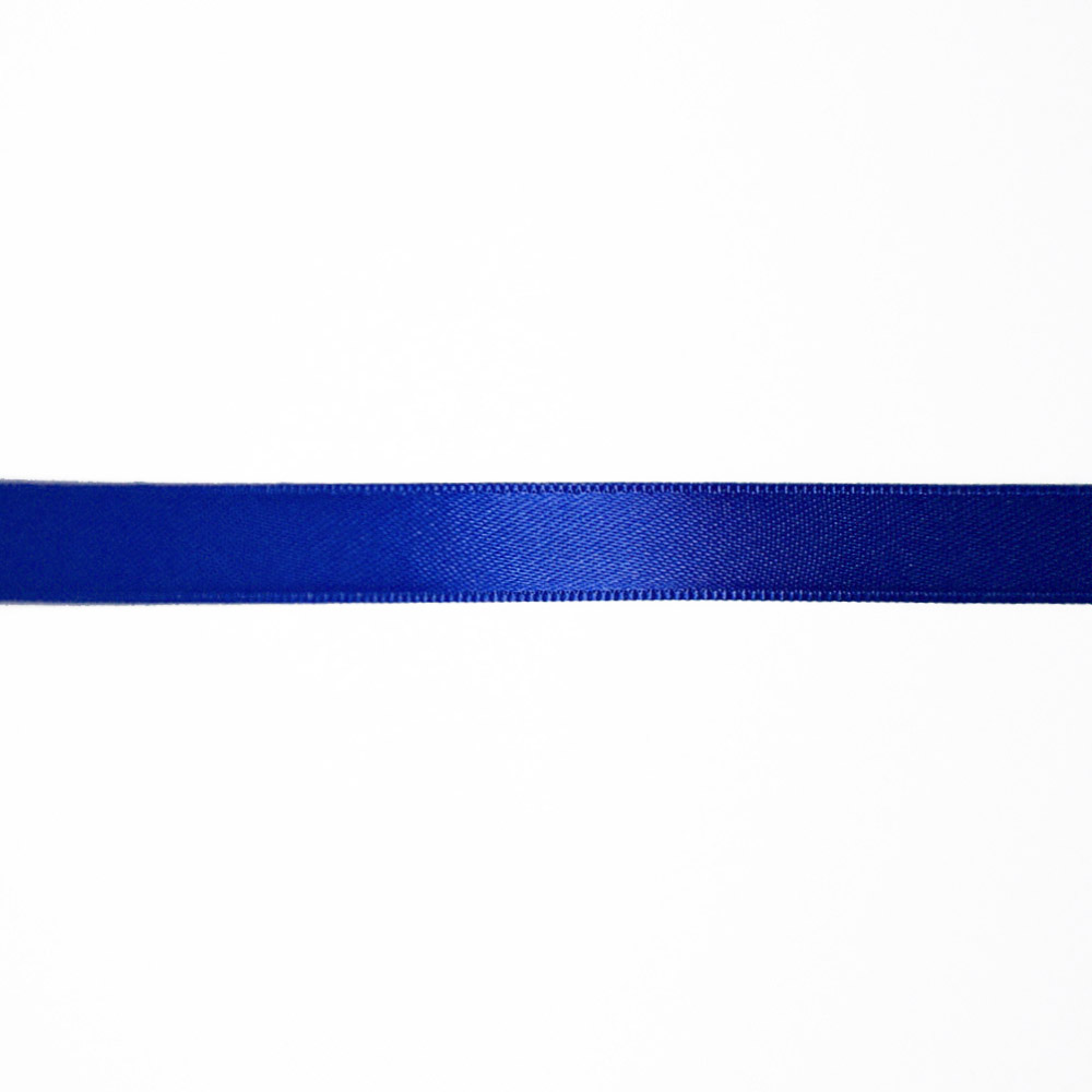 Satin ribbon, 10mm, 15458-1158, royal blue