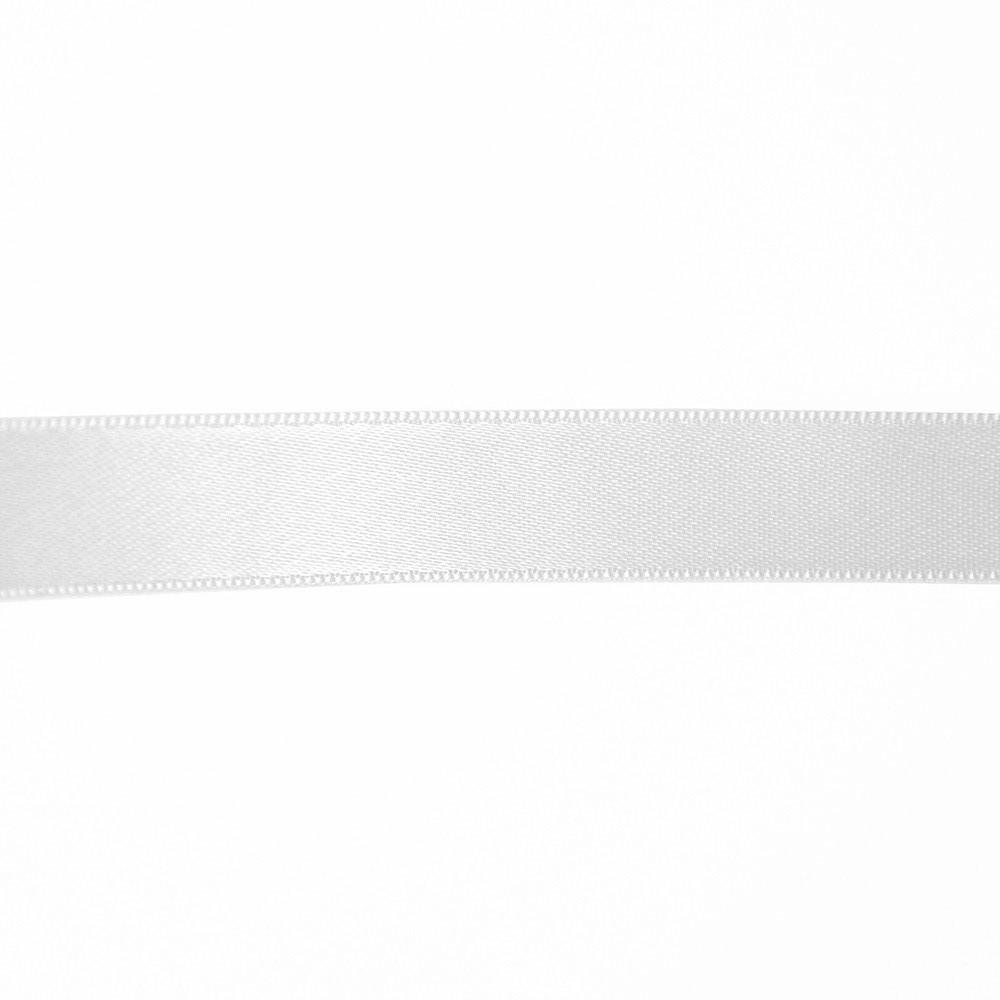 Band, Satin, 15 mm, 15459-1, weiß
