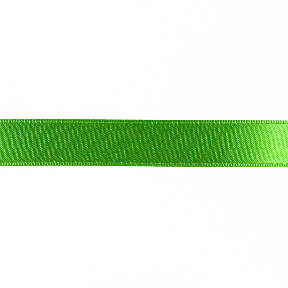Satin ribbon, 15mm, 15459-1249, green