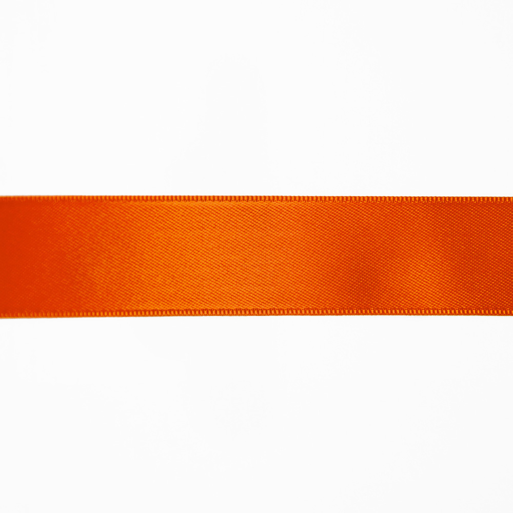 Satin ribbon, 25mm, 15460-1037, orange