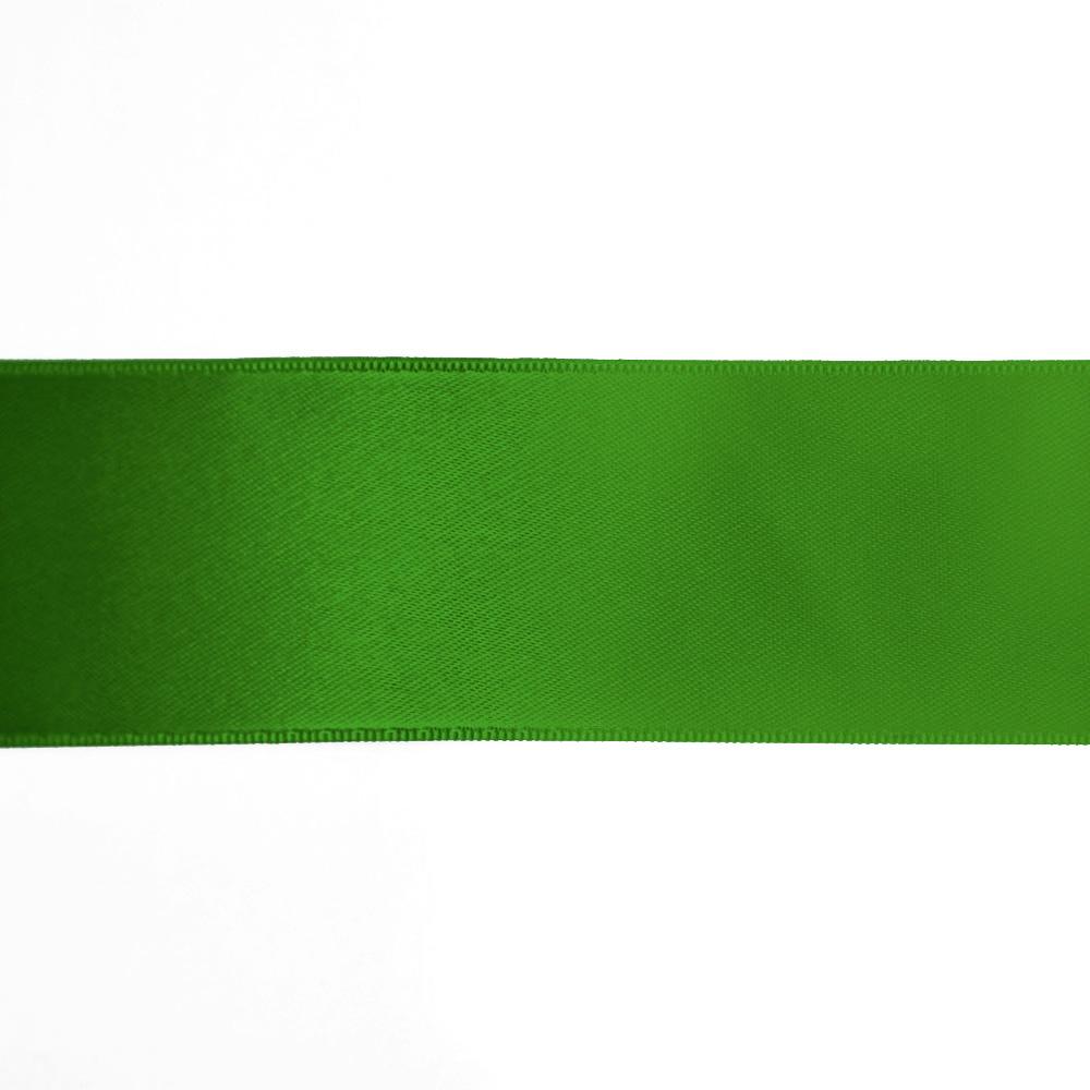 Traka, saten, 40mm, 15461-1249, zelena