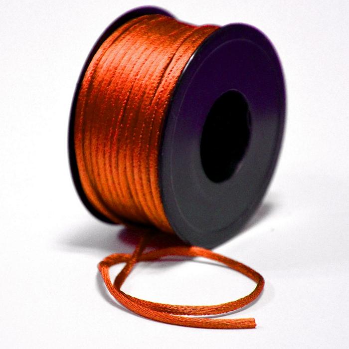 Schnur, Viskose, 3mm, 15462-3044, orange