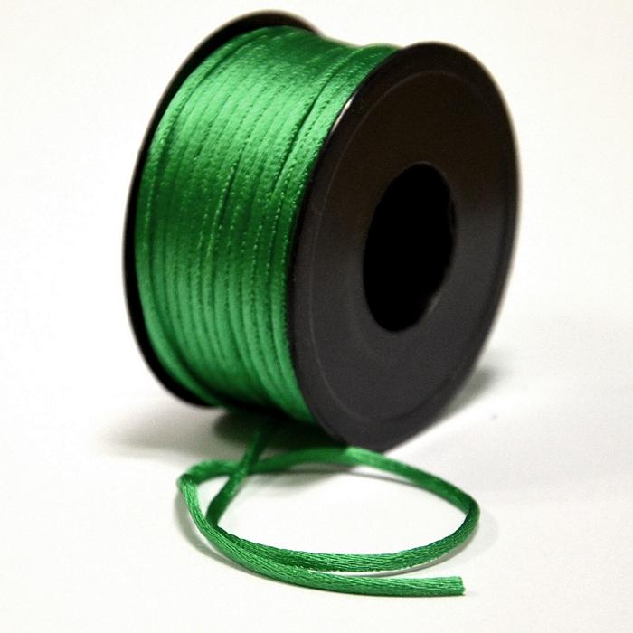 Schnur, Viskose, 3mm, 15462-3008, grün