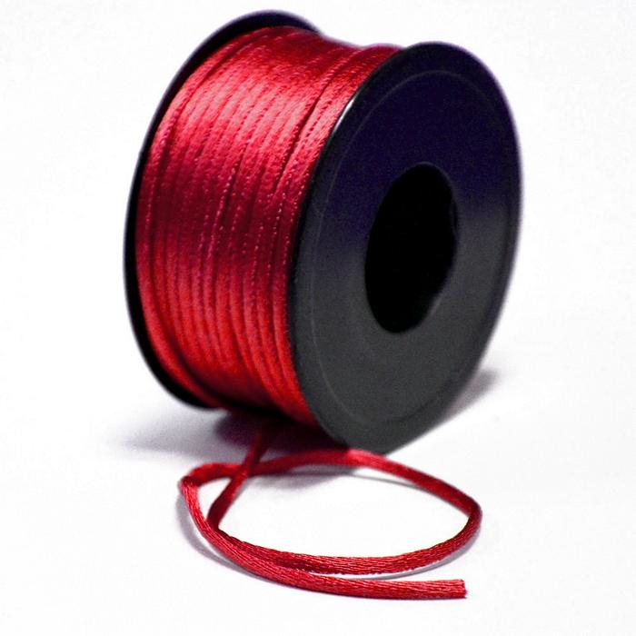 Uzica, viskozna, 3mm, 15462-3004, crvena