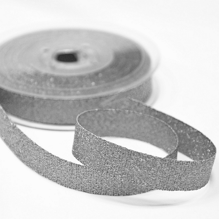 Traka, lame,15mm, 15472-2, srebrna