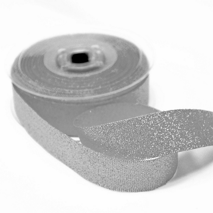 Trak, lame, 25mm, 15473-2, srebrna
