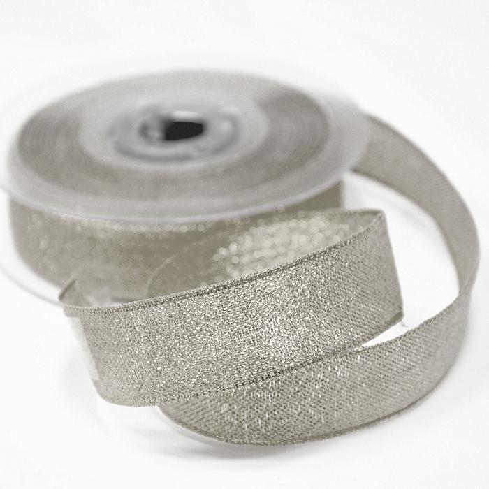 Trak, lame, 25mm, 15481-2, srebrna