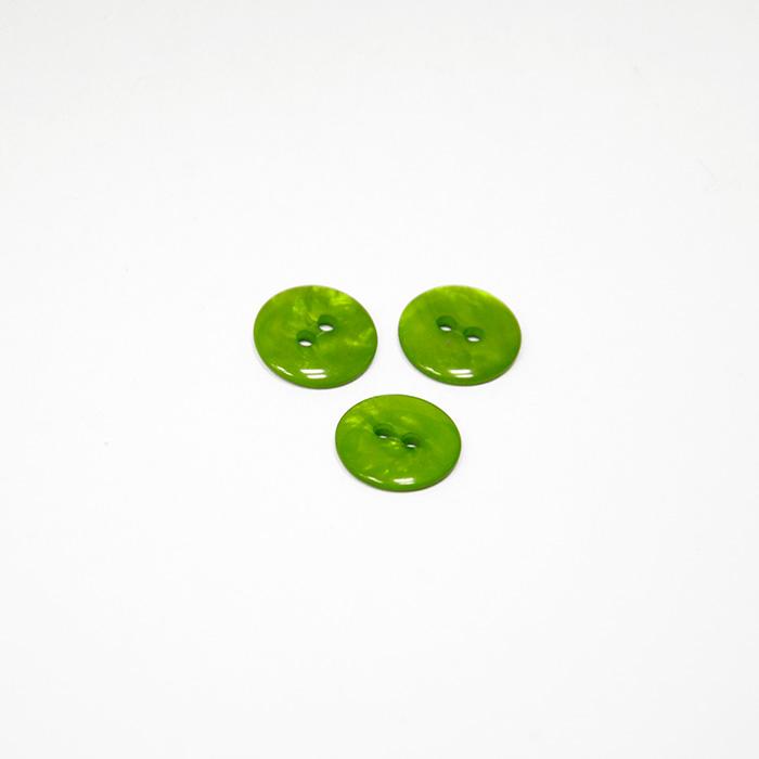 Knopf, für Blusen, grün, 14 mm, 15502-1B