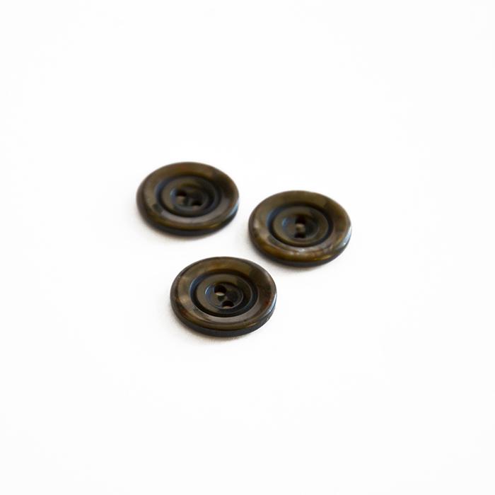 Gumb, kostimski, rjava, 18 mm, 15506-11A