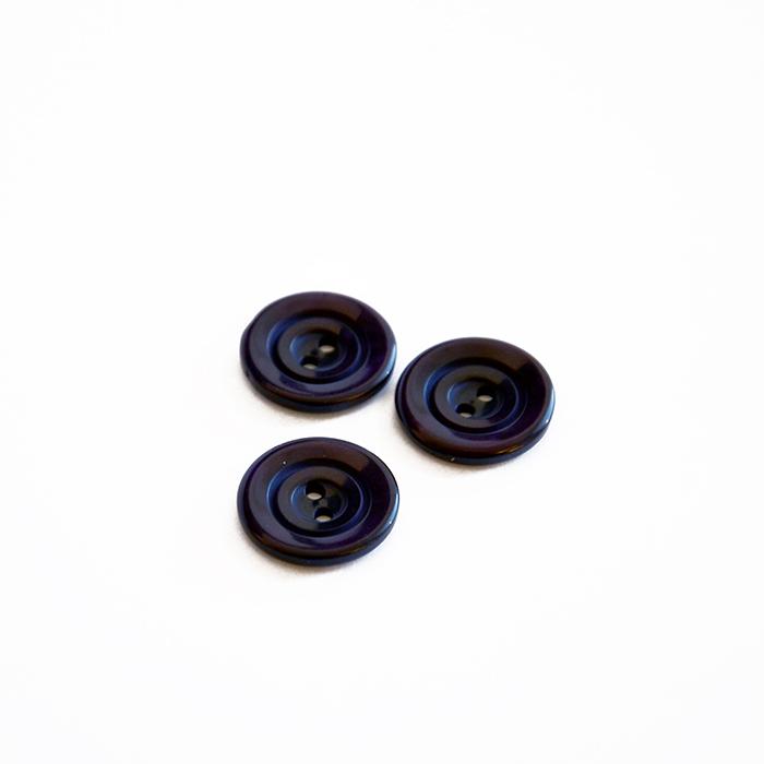 Gumb, kostimski, temno vijola, 18 mm, 15506-11J