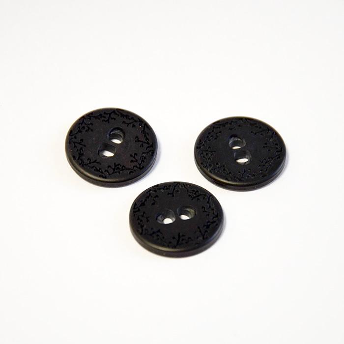 Gumb, kostimski, crna, 23 mm, 15508-11K