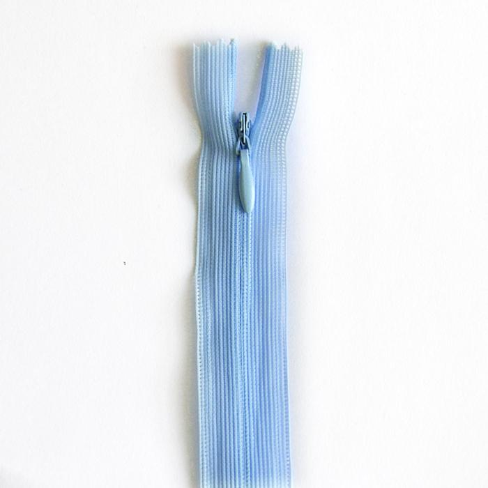 Reißverschluss, versteckt, 22cm, 04mm, 4471-504, hellblau