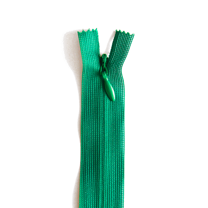 Zadrga, skrita 60 cm, 04 mm, 2041-639, zelena