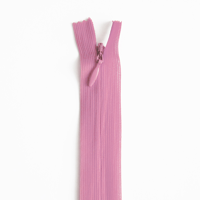 Zadrga, skrita 40 cm, 04 mm, 4470-420, roza