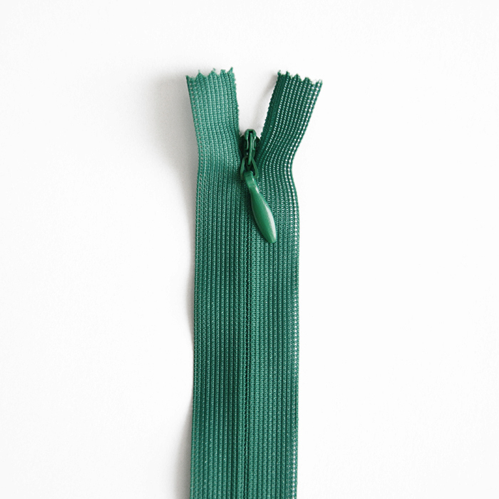 Zatvarač, skriveni  40 cm, 04 mm, 4470-685, tamno zelena