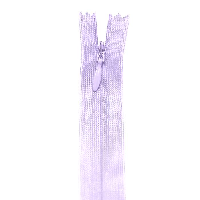 Zadrga, skrita 40 cm, 04 mm, 4470-410A, lavanda