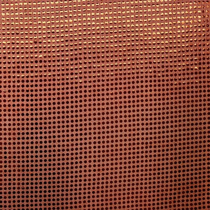 Sequins, glitter, 2979-6, orange
