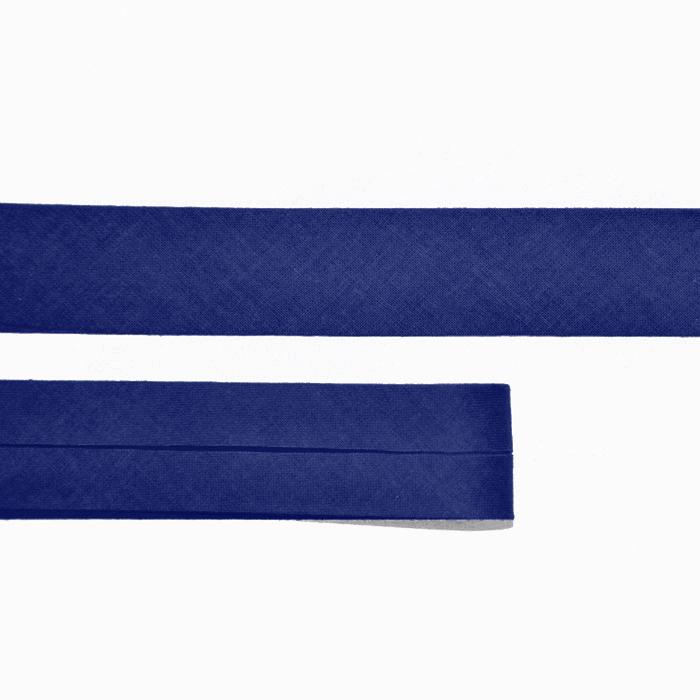 Bias tape, cotton, 15516-86, blue