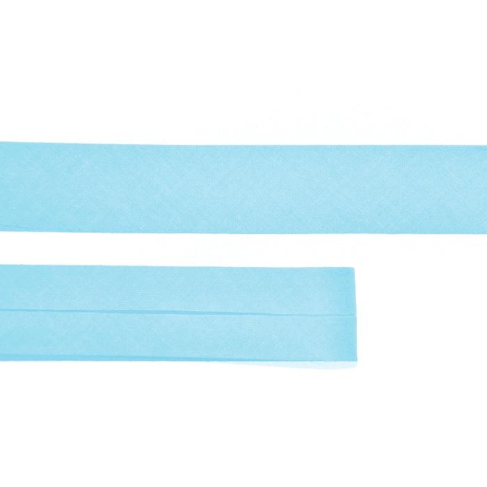 Bias tape, cotton, 15516-13, turquoise