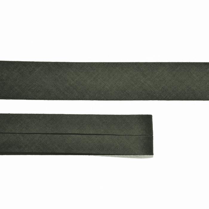 Randband, Baumwolle, 15516-37, dunkelgrün