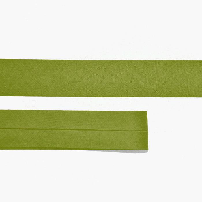 Obrubna traka, pamuk, 15516-107, zelena
