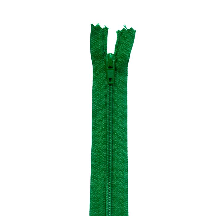 Zipper, spiral 20 cm, 04 mm, 2042-652, green
