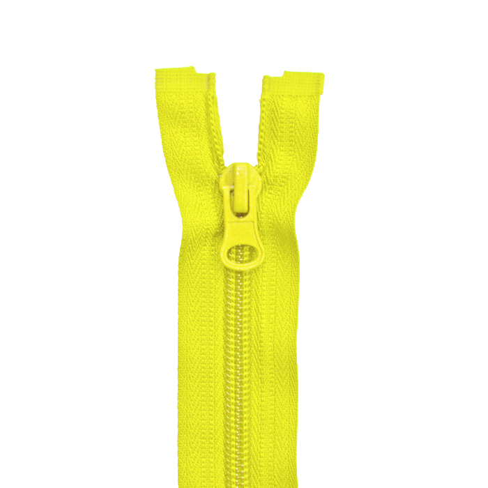 Reißverschluss, teilbar, 60cm, 6mm, 2051-105, gelb