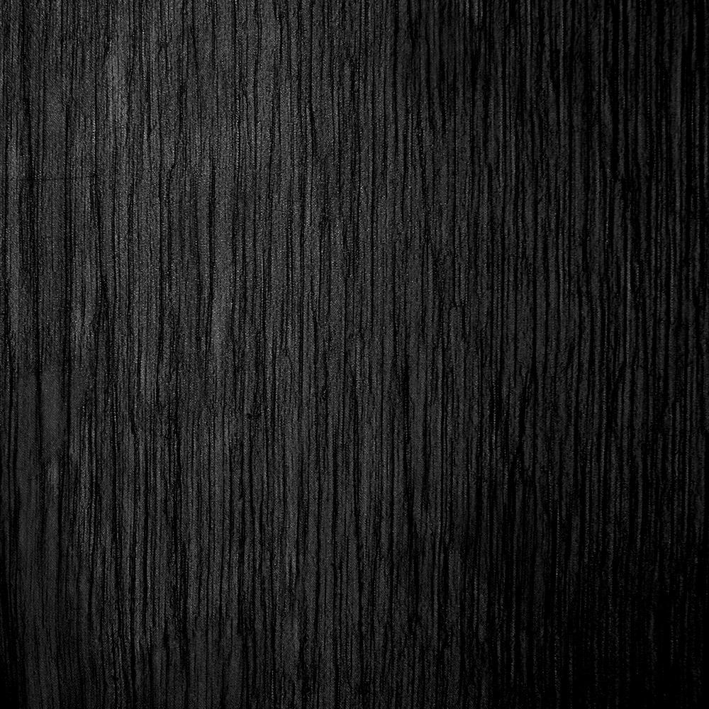 Šifon, plise, 15533-069, črna