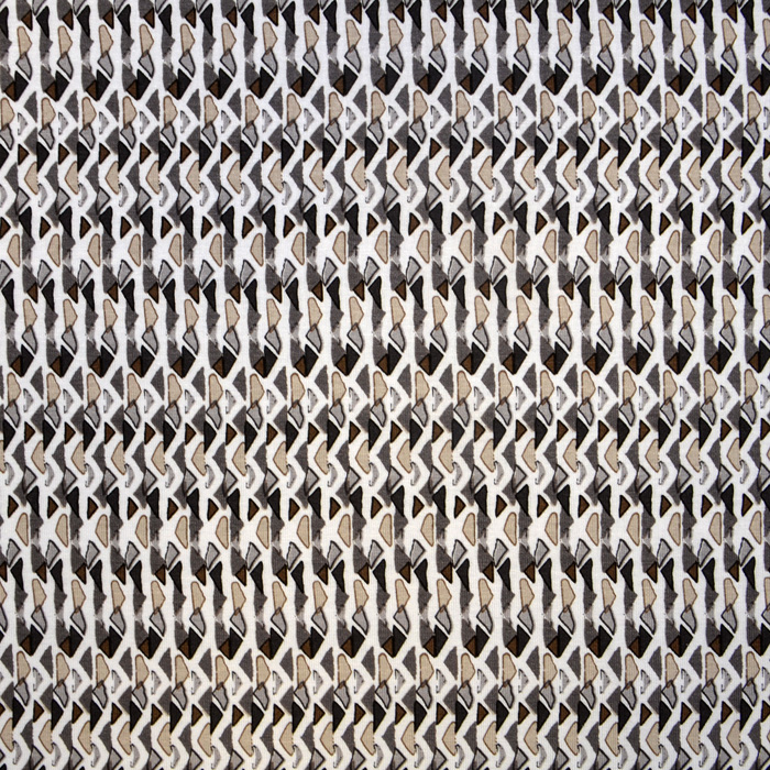 Jersey, viskoza, geometrijski, 15569-069, bež