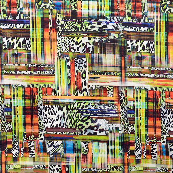 Bombaž, tisk, abstrakten, 15607-023